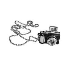 camerapendantnecklace, longpendantnecklace, cutenecklace, Fotografía