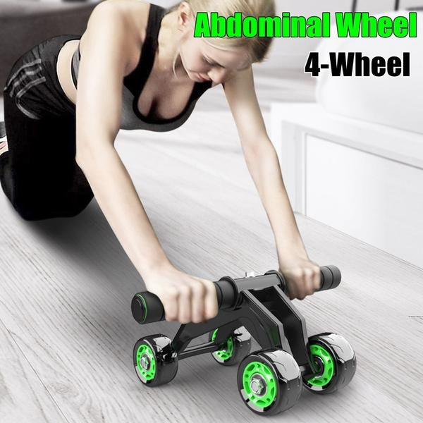 abdominalexerciser, rollerwheel, exerciseequipment, Fitness