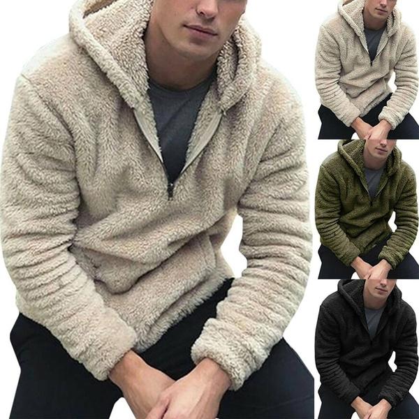 fluffy, Fashion, Casual Hoodie, fur