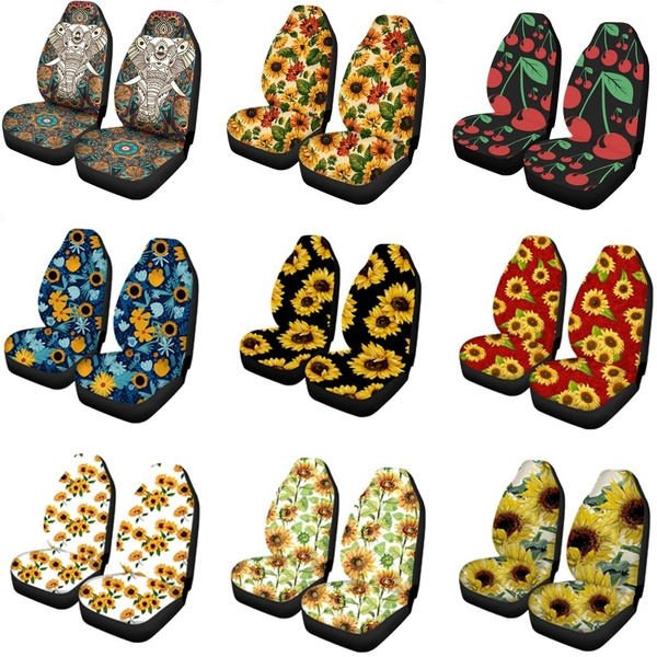 carseatcover, Fashion, Sunflowers, Auto Accessories