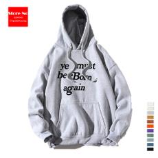 hooded, pullover hoodie, mens tops, Long Sleeve