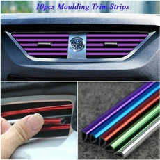 Trim, vehiclemountedairoutletdecorativestrip, interiortrimstrip, automotiveinterior