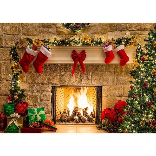 Decor, Christmas, Gifts, Tree