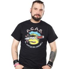 black, Funny T Shirt, Cotton, Cotton T Shirt