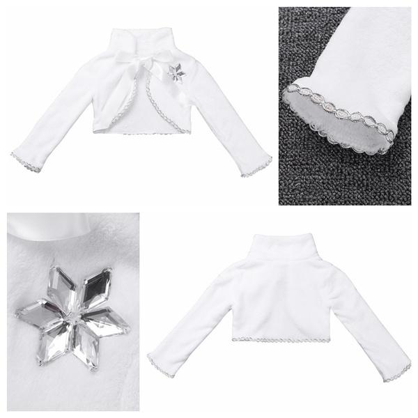 Fashion, girlswhitecoat, Long Sleeve, Dress