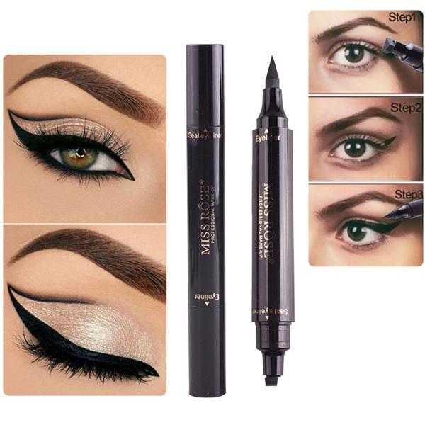 Makeup Tools, Head, eyelinersealstamppencil, dualheadeyeliner