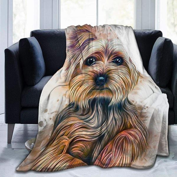 Fleece, painting, bedblanket, sofablanket