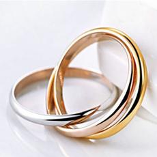 goldplated, ringsformen, Fashion, Women Ring