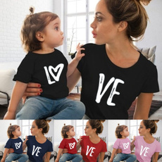 Baby, Heart, motherdaughter, childfashion