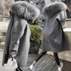 woolen, Coat, furcoatsforwomen, coatsforwomenwinter