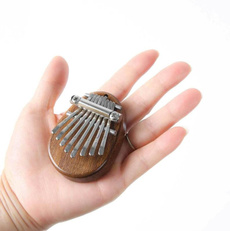Mini, solidkalimba, Toy, Musical Instruments
