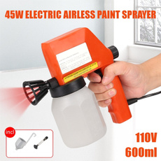 Electric, paintsupplie, paintsprayer, gun
