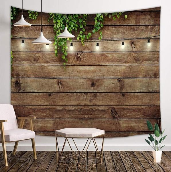 woodtapestry, Wooden, hangingtapestry, bedroom