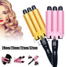 Hair Curlers, ceramicwavehairroller, Fashion, wand