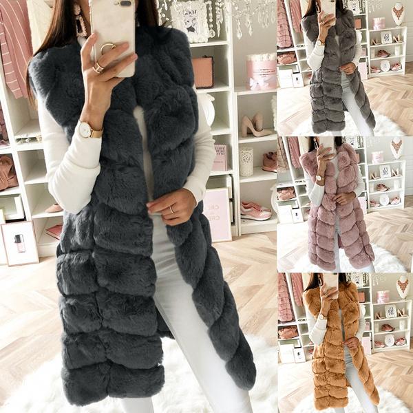 casual coat, fur coat, Vest, cardigan