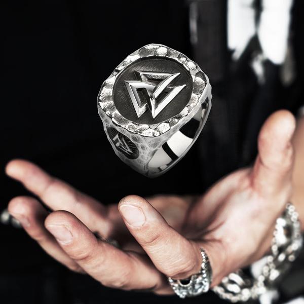 viking, men_rings, Fashion, Triangles