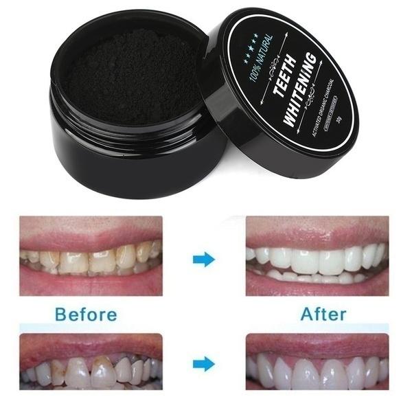 teethwhiteningpowder, Charcoal, Yellow, bambootoothpaste