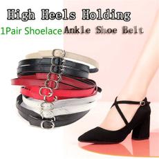 shoeaccessorie, ankleshoebelt, Adjustable, Lace