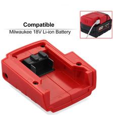 usbadaptor, batterychargeradapter, batterychargerconverter, milwaukeebatteryconvert