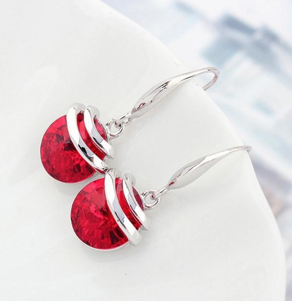 Sterling, Princess, Stud Earring, women earrings