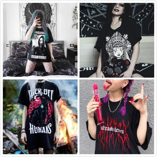 Summer, darkstyle, Fashion, Grunge