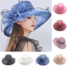 Summer, Fashion, Beach hat, teapartycap