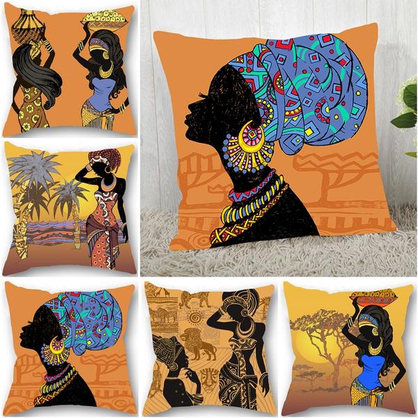 decorativepillowcase, africanwomen, africanwomenpillowcase, almofadasdecorativasparasofa
