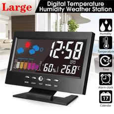 led, Clock, Indoor, temperatureclock