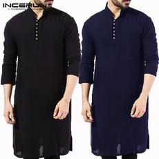 Plus Size, Long Sleeve, Muslim, kurtasuit