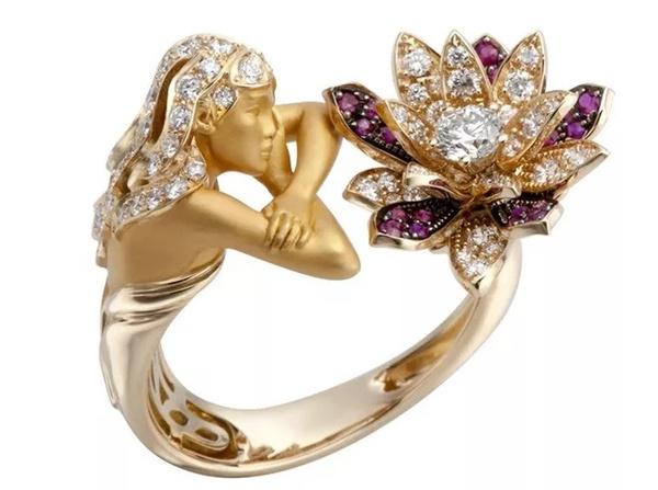 Wedding, Fashion, wedding ring, gold
