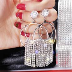 Tassels, DIAMOND, Jewelry, Earring