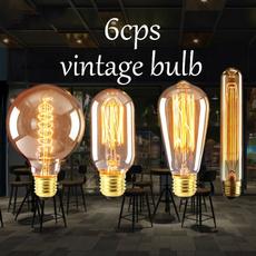 incandescentbulb, Light Bulb, led, Vintage