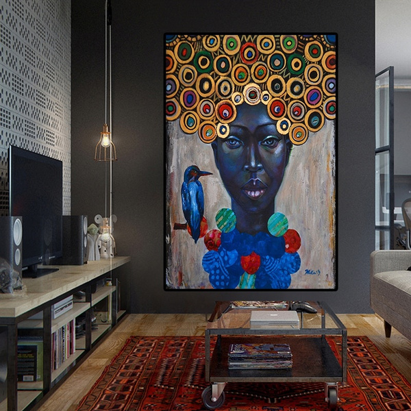 Decor, living room, Portrait, art