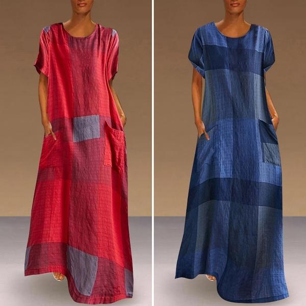 tunicdresse, linendresse, Plus Size, Summer