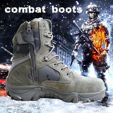 combat boots, Hiking, Hunting, Army