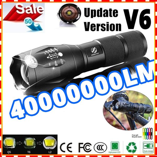 l2ledflashlight, Flashlight, led, 18650flashlight