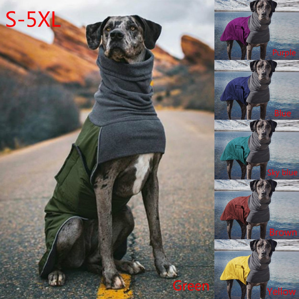 Pet Dog Clothes, Plus Size, Waterproof, neckwarmer