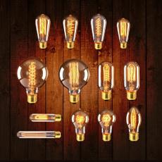 incandescentbulb, edisonlamp, lights, retrobulb