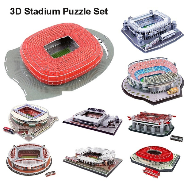 3dpuzzlefootballstadium, arena, Football, puzzletoysforkid