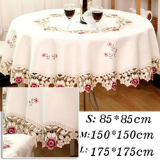 floral lace, tablerunner, Lace, lacetablecloth