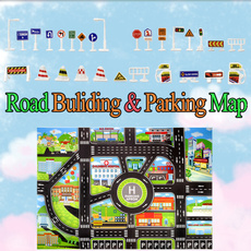 Mini, roadbuilding, Toy, Home Decor