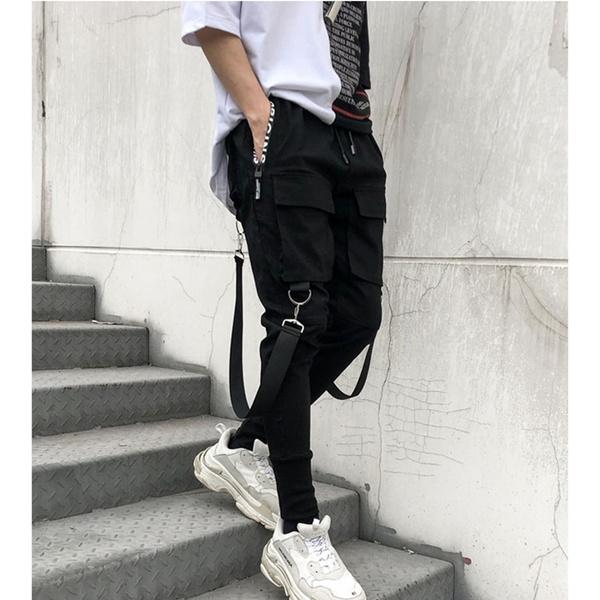 harem, Fashion, Elastic, pants