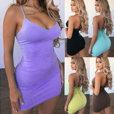 Mini, slim, high waist, Evening Dress