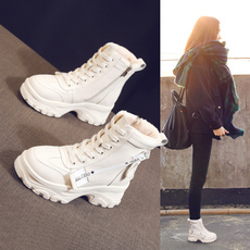 cottonpaddedshoe, 厚底马丁靴, 2019, thinandthin