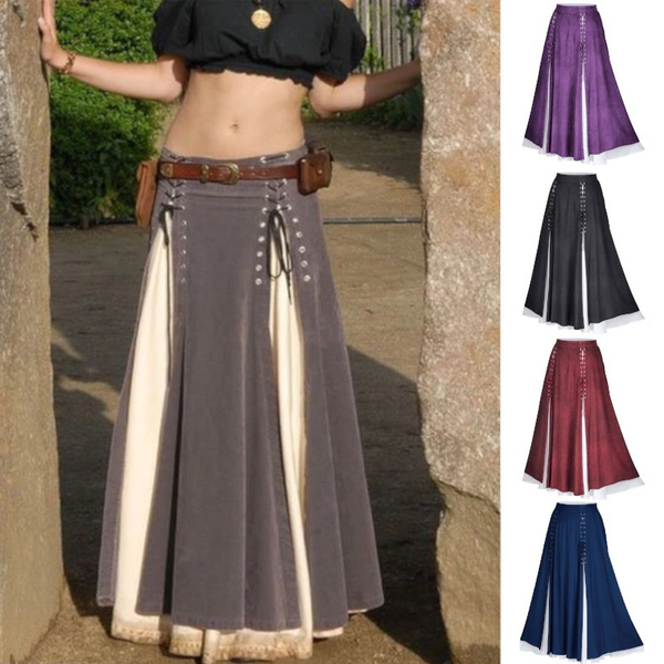 Plus Size, Romantic, overskirt, maxi skirt