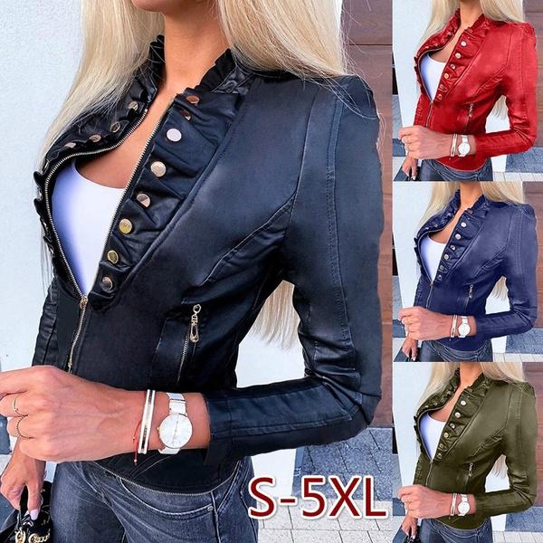 Mini, Plus Size, zipperjacket, leather jacket