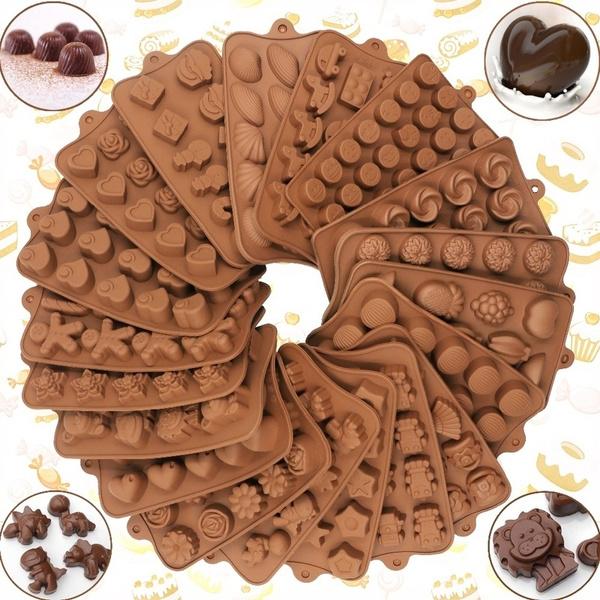 brown, Baking, valentinemold, Food