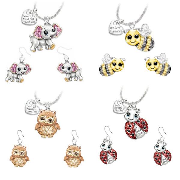 cute, Fashion, Elephant, Owl