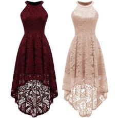 womens dresses, Lace, Cocktail, Halter