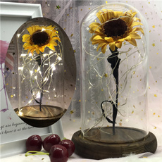 eternalflower, Decoración de hogar, beautyandthebeastrose, sunflowerdecoration